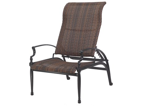 Gensun Bel Air Woven Cast Aluminum Reclining Chair