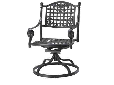 GenSun Verona & Grand Cast Aluminum Cushion Swivel Rocker