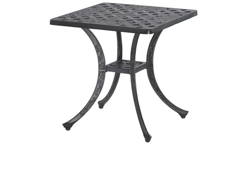 GenSun Verona Cast Aluminum 21 Square End Table