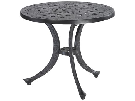 GenSun Verona Cast Aluminum 21 Round End Table