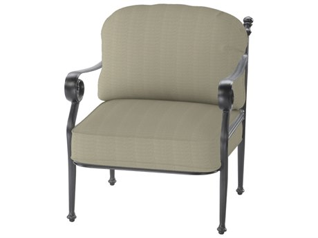 GenSun Verona & Grand Cast Aluminum Cushion Lounge Chair (Sold in 2)