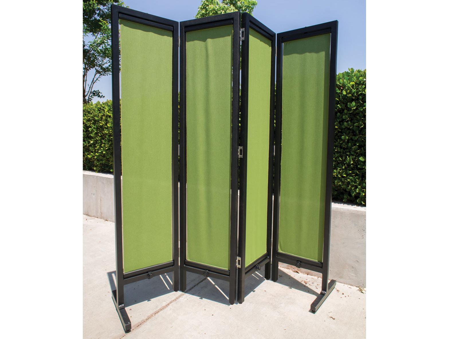 Gensun Privacy Aluminum 4 Panel Screen Acce4pnl