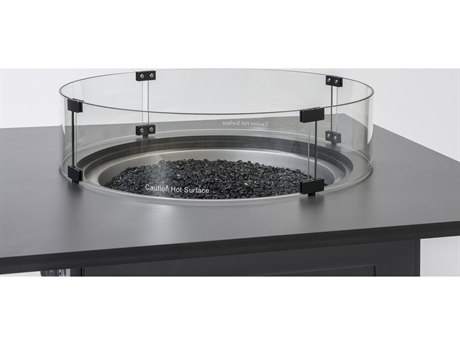 GenSun Wind Screen Round Fire Pit Top
