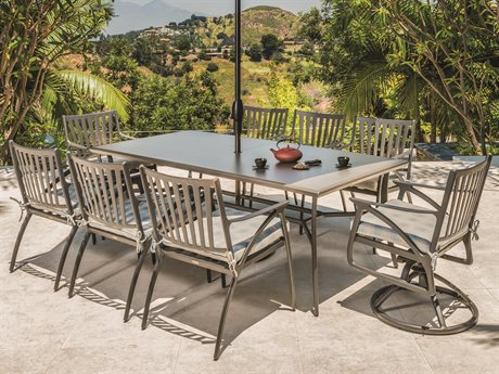 Gensun Amari Aluminum Dining Set PatioLiving