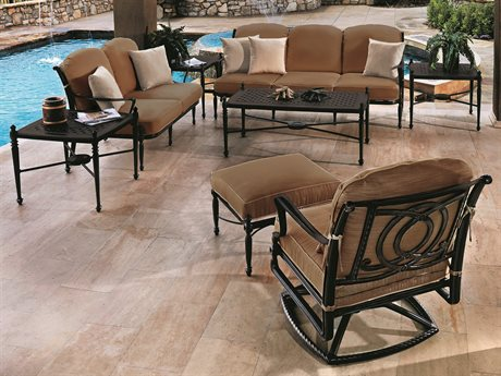 Gensun Bel Air Cast Aluminum Cushion Lounge Set