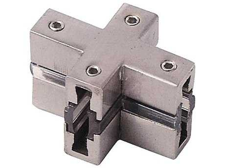 George Kovacs GK Lightrail Brushed Nickel X-Connector