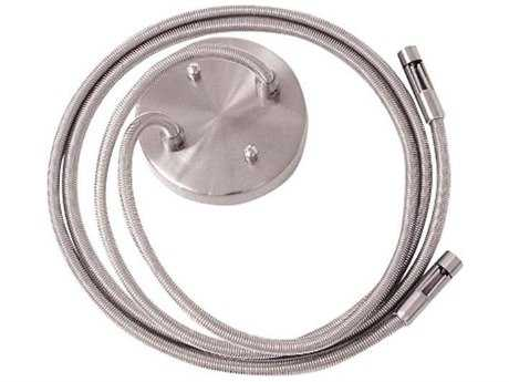 George Kovacs GK Lightrail Brushed Nickel 48'' Dual Post Power Feed