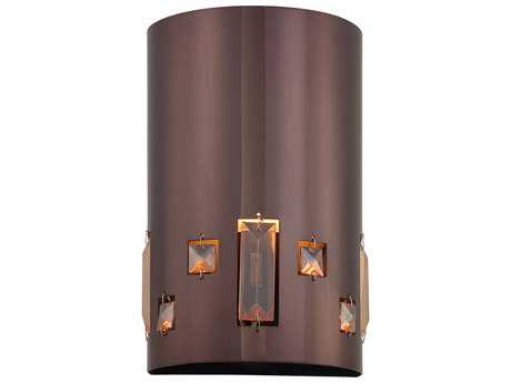 George Kovacs Bling Bang Chocolate Chrome Wall Sconce