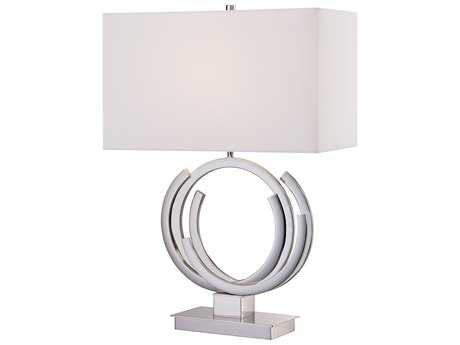 George Kovacs Portables Polished Nickel Table Lamp