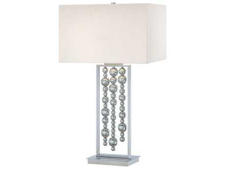 George Kovacs Decorative Portables Chrome Two-Light Table Lamp