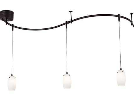 George Kovacs GK Lightrail Sable Bronze Patina Three-Light 96'' Wide Track Light Kit