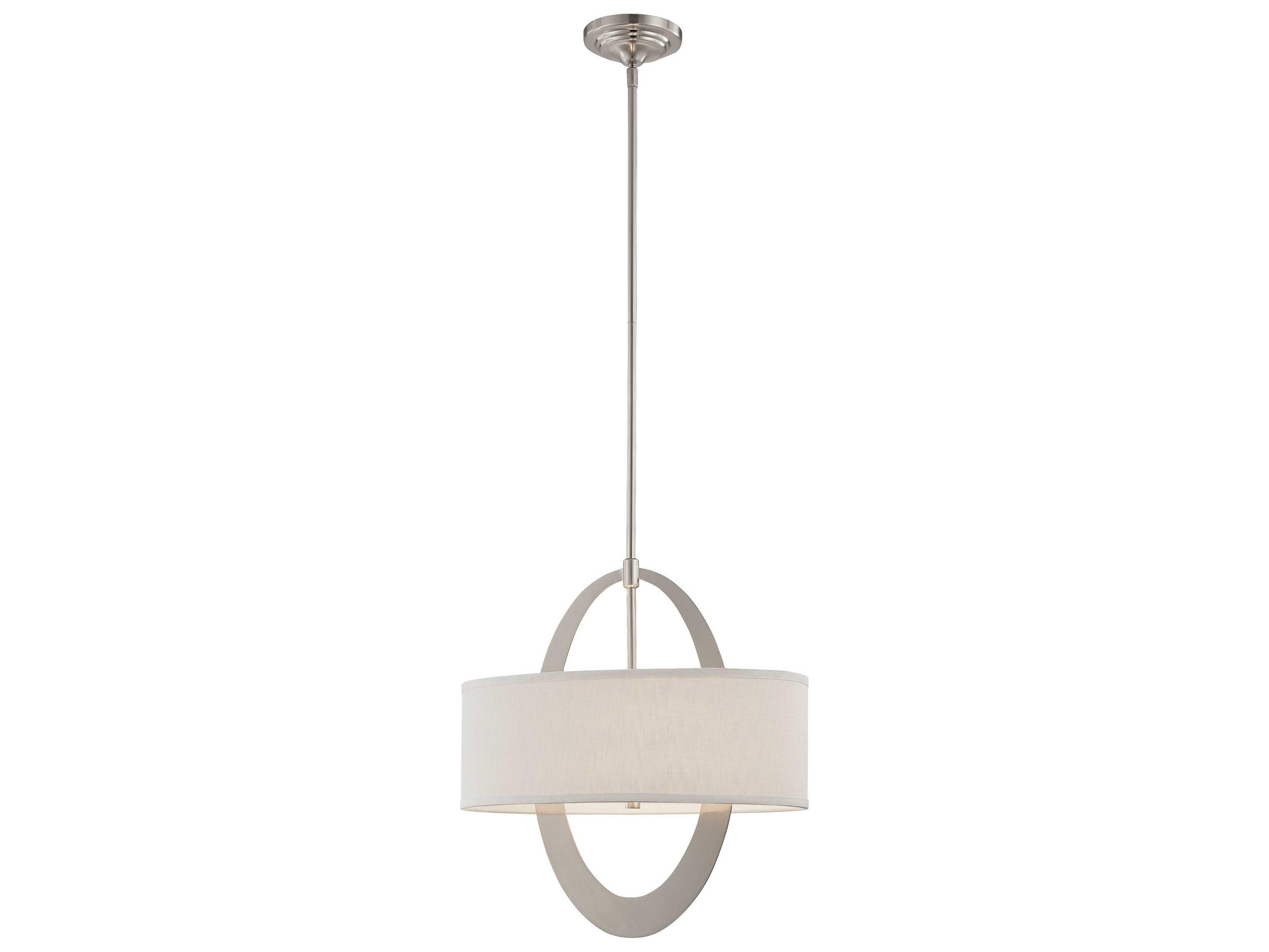 george kovacs earring brushed nickel two light 10 39 39 wide. Black Bedroom Furniture Sets. Home Design Ideas
