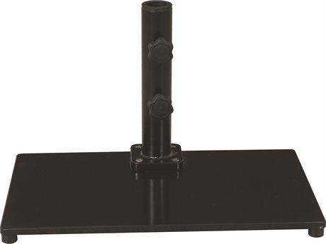 Galtech Steel Plate 40 lb. Rectangular Umbrella Base GL040SQ