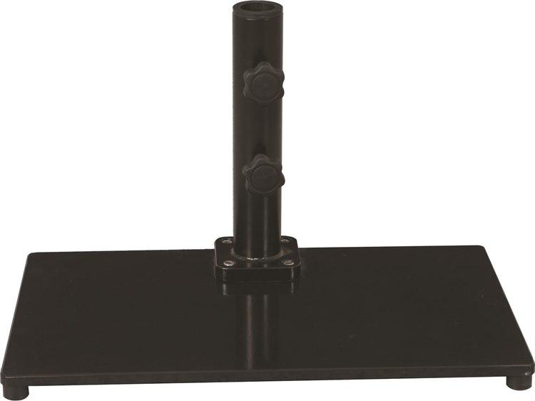 Galtech Steel Plate 40 lb. Rectangular Umbrella Base