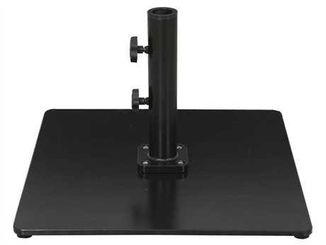 Galtech Steel Plate 85 lb. Square Umbrella Base