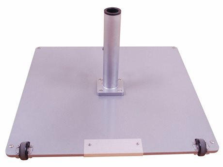 Galtech Steel Plate 95 lbs Square Wheeled Umbrella Base