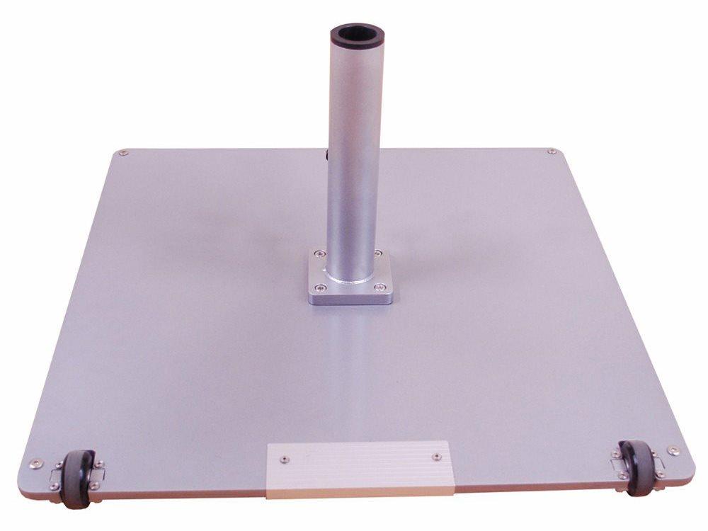 Galtech Steel Plate 95 Lbs Square Wheeled Umbrella Base