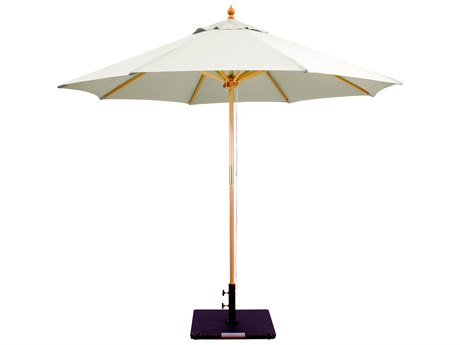 Galtech Wood 9 Foot Double Pulley Umbrella