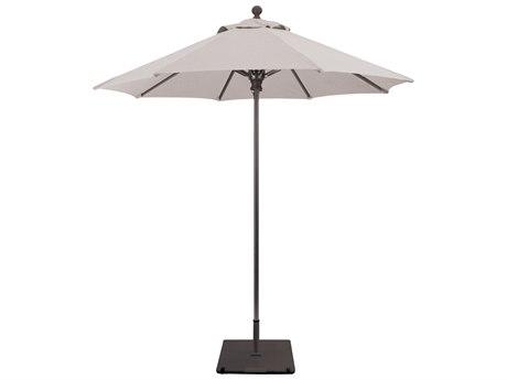Galtech Commercial 7.5 Foot Aluminum Push Up Lift Umbrella PatioLiving