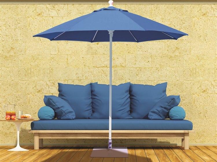 Galtech Quick Ship Commercial 7.5 Foot Aluminum Octagon Push Up Lift Umbrella