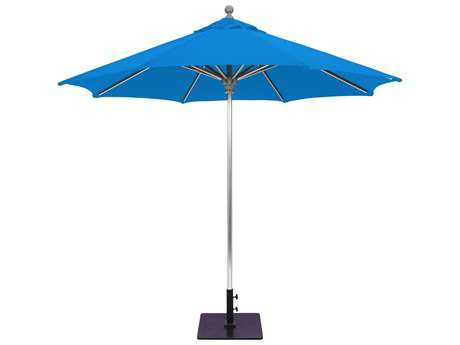 Galtech Commercial 9 Foot Aluminum Push Up Lift Umbrella