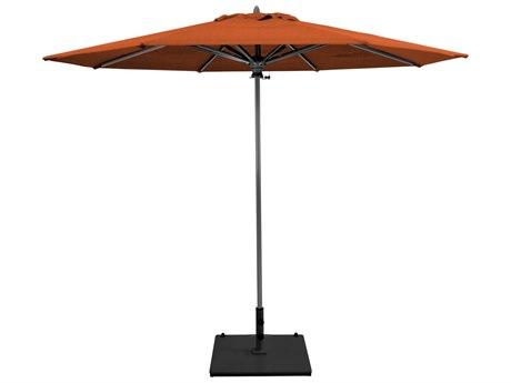 Galtech Commercial 9 Foot Aluminum Push Up Lift Umbrella PatioLiving