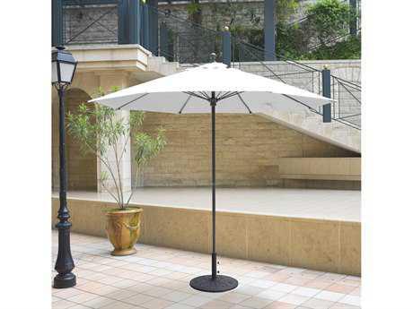 Galtech Quick Ship Commercial 9 Foot Aluminum Push Up Lift Umbrella