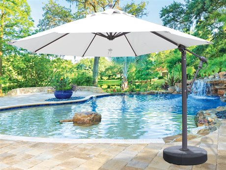 Galtech Quick Ship Cantilever 11 Foot Aluminum Offset Umbrella