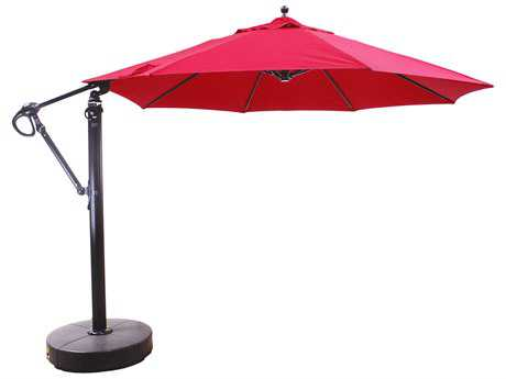Galtech Cantilever 11 Foot Aluminum Offset Umbrella