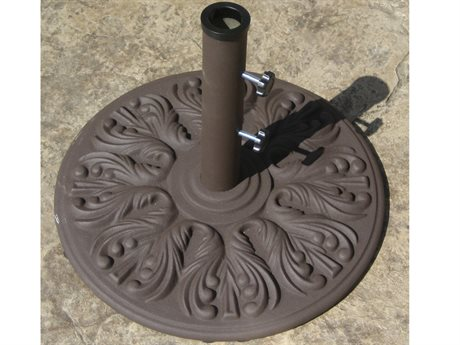 Galtech European Style Cast Iron 75 lb. Round Umbrella Base