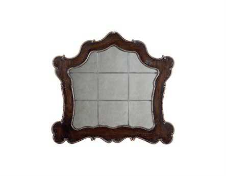 Guild Master Heritage Heritage Grey Stain 52 x 48 Wall Mirror