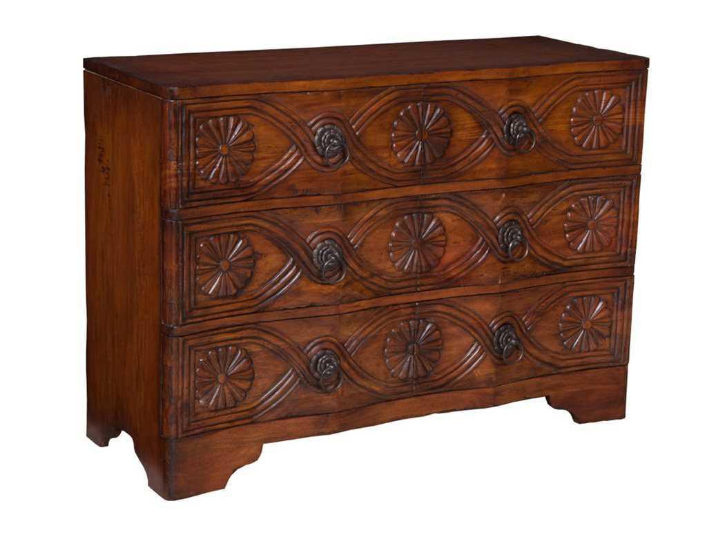 guild master medallion three drawer dresser gm643522