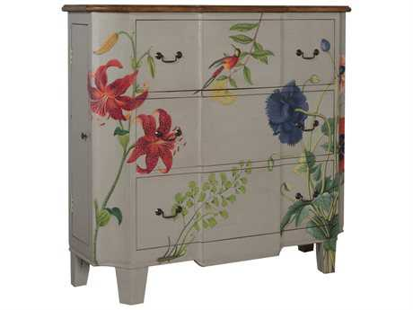 Guild Master Devon White Three Drawer Chest