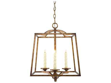 Golden Lighting Athena Grecian Gold Three-Light 14.75'' Wide Pendant Ceiling Light