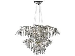 Silver Large Chandeliers Luxedecor
