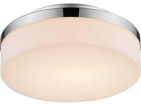 Golden Lighting Iberlamp Harmoni Chrome LED Wall Sconce with Cased Opal Glass