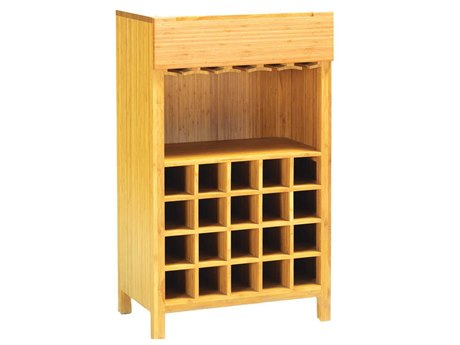 Greenington Tulip Caramelized Wine Cabinet