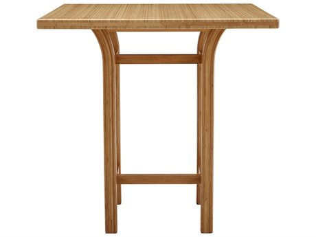 Greenington Tulip 36'' Square Caramelized Counter Height Table