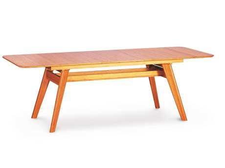 Greenington Currant 72'' x 36'' Rectangular Caramelized Extendable Dining Table