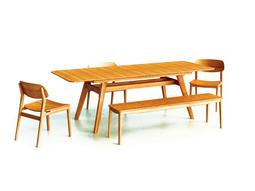 Greenington Currant Caramelized Dining Set