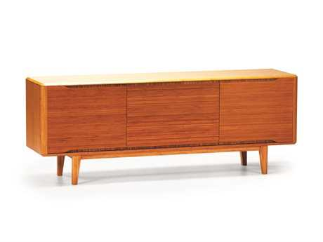Greenington Currant 72'' x 18'' Rectangular Caramelized Sideboard