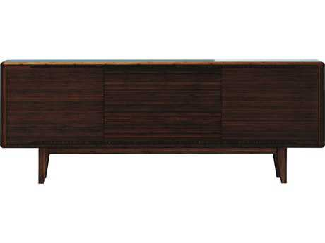 Greenington Currant 72'' x 18'' Rectangular Black Walnut Sideboard