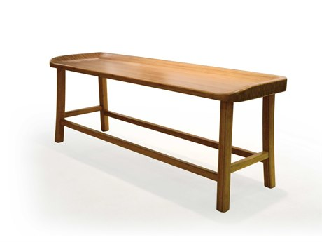 Greenington Tulip Caramelized Bench