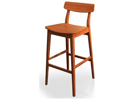 Greenington Currant Caramelized Bar Height Stool (Set in 2)