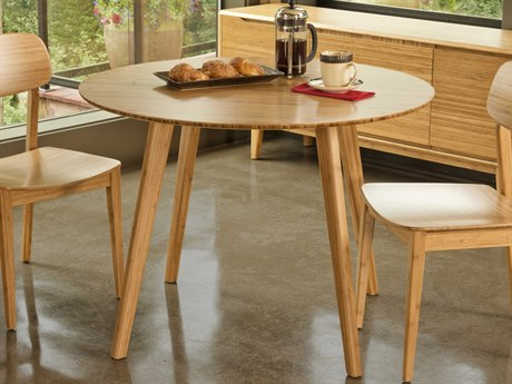 Greenington Currant 42'' Round Caramelized Dining Table