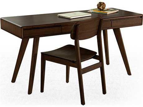 Greenington Currant 64'' x 24'' Rectangular Black Walnut Writing Desk
