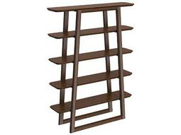 Greenington Currant 47L x 62H Black Walnut Bookshelf