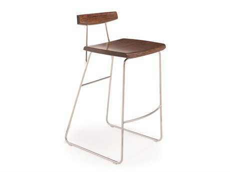 Greenington Paris Exotic Cognac Bar Height Stool (Sold in 2)