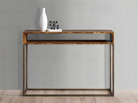 Greenington Accents 45.67'' x 13.7'' Rectangular Toronto Solid Exotic Tiger Bamboo Console Table