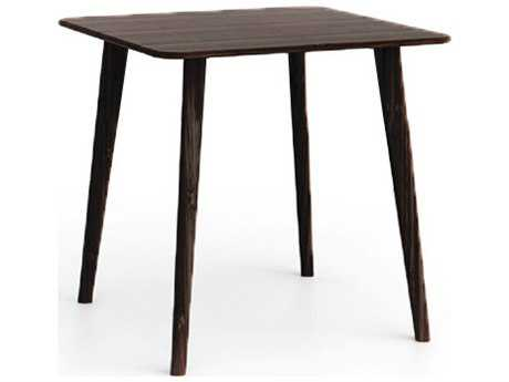 Greenington Azara 36'' Square Black Walnut Counter Height Table